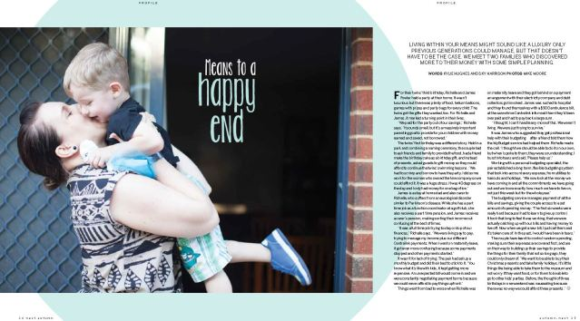 Means to a Happy End - Nest parenting magazine